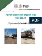 Export Protocol Uslivestock