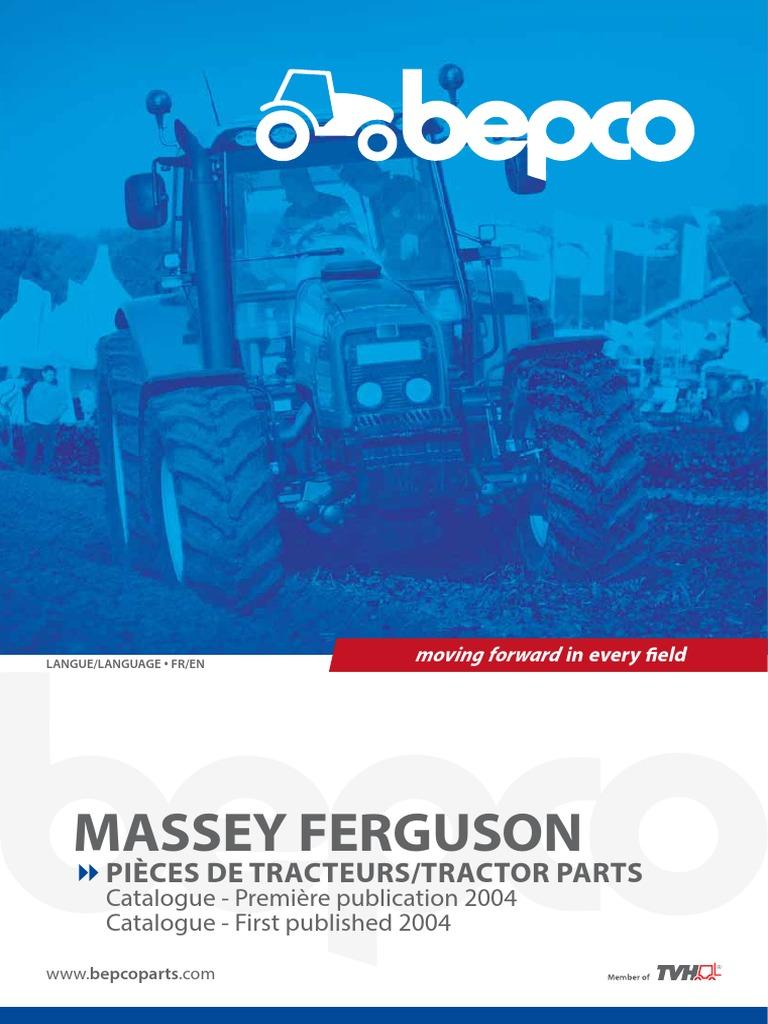 Ferguson TEF//FE35  Diesel  Exhaust Manifold Elbow