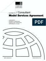 FIDIC Client Consultant Agreement