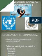 Legislacion salvadoreña al abordaje de la violencia de género.