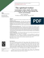Spiritual Worker
