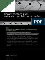 Organizaciones de Estandarización