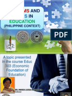 Issues in Phil Educ System