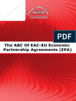 The ABC of EAC-EU Economic Partnership Agreements (EPA)