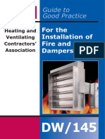 Besa Guide to Good Practice for the Installation of Fire and Smoke Dampers (Sample)