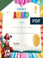 AwardCertificate-RedAppleReading
