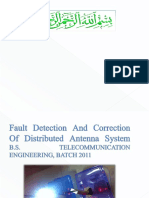 Fault Detection and Correction of Distributed Antenna System (2)
