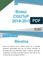 12.03.18 Capacitacion Boteo Becalos CGUTyP 2018-2019