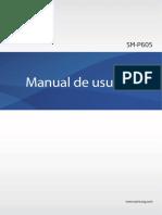 Manual de usuario - Galaxy Note 10.1