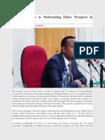 From Predatory to Modernizing Elites_ Prospects in Abiy's Ethiopia - Ethiopia Observer.pdf