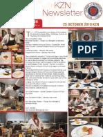 Chaîne des Rôtisseurs KZN Newsletter