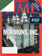 Time Magazine - Mormon Issue - Aug 1997
