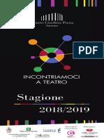 Teatro Giuditta Pasta Stagione 2018-2019