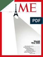 Time Magazine November 30 2015