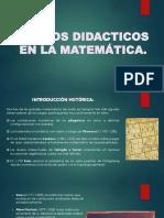 Juegos Didacticos en La Matemática