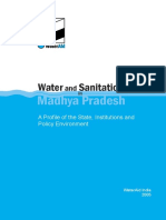 Water Sanitation Madhya Pradesh Policy