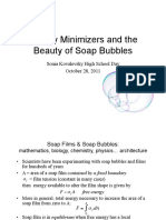 Minimizer and the Beauty of Soap Bubbles