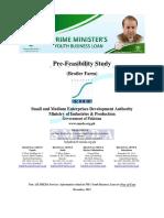 Pre Feasibility Business Plan of Poultry Farming in Pakistan