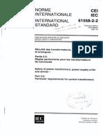 IEC 61558-2-2