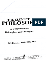 The Elements of Philosophy a C - William Wallace