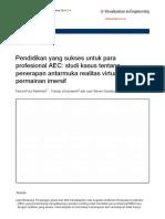 Salinan terjemahan PourRahimian2014_Article_SuccessfulEducationForAECProfe.pdf