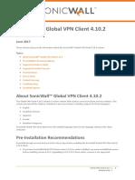 232-003910-00 RevA GlobalVPNClient 4.10.2 ReleaseNotes