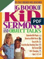 GL Big Book of Kid Sermons and Object Talks