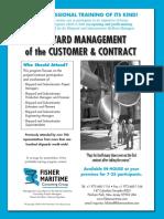 Shipyard Management of the Customer Nad Management
