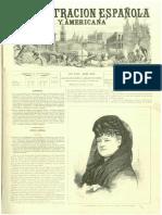 La Ilustracion Española y Americana 1874 Extracto Vilches