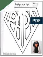Imprimible Logo SUPER PAPA