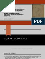 Seminario Archivos Judiciales y DDHH