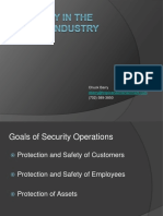 Security in the Casino Industry 2-7-13