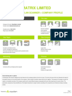 data matrix limited valuation report