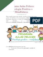 Programa Aulas Felices