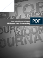 CMFR Philippine Press Freedom Report 2008