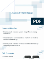 Avigilon System Design