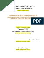 TCC Filosofia. Lucas Rodrigues Dalbom 2016