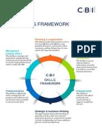 Cbi Skills Framework