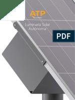Lampara Solar Fotovoltaica
