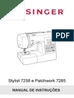 Manual de Instruções 72xx 3.PDF Singer Patchowork