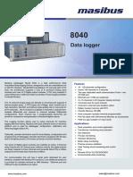 Masibus 8040 R4F 1215 Datalogger