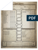 Black Industries - Dark Heresy - Character Sheet
