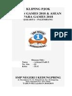 Kliping Asean Games 2018