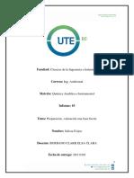 Guia de Practica # 2 Prepacion y Valoracion de Acido Fuerte - Quimica Analitica Abril 2018