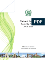National Internal Security Policy 2018-2023