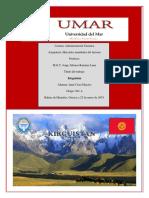 Trabajo Final Kirguistán
