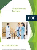 Comunicación Con El Paciente