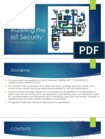 IoT Auditing ISACA Version 1