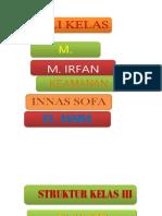 Struktur Kelas III