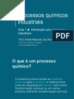 Aula 1 - Introdução Aos Processos Industriais